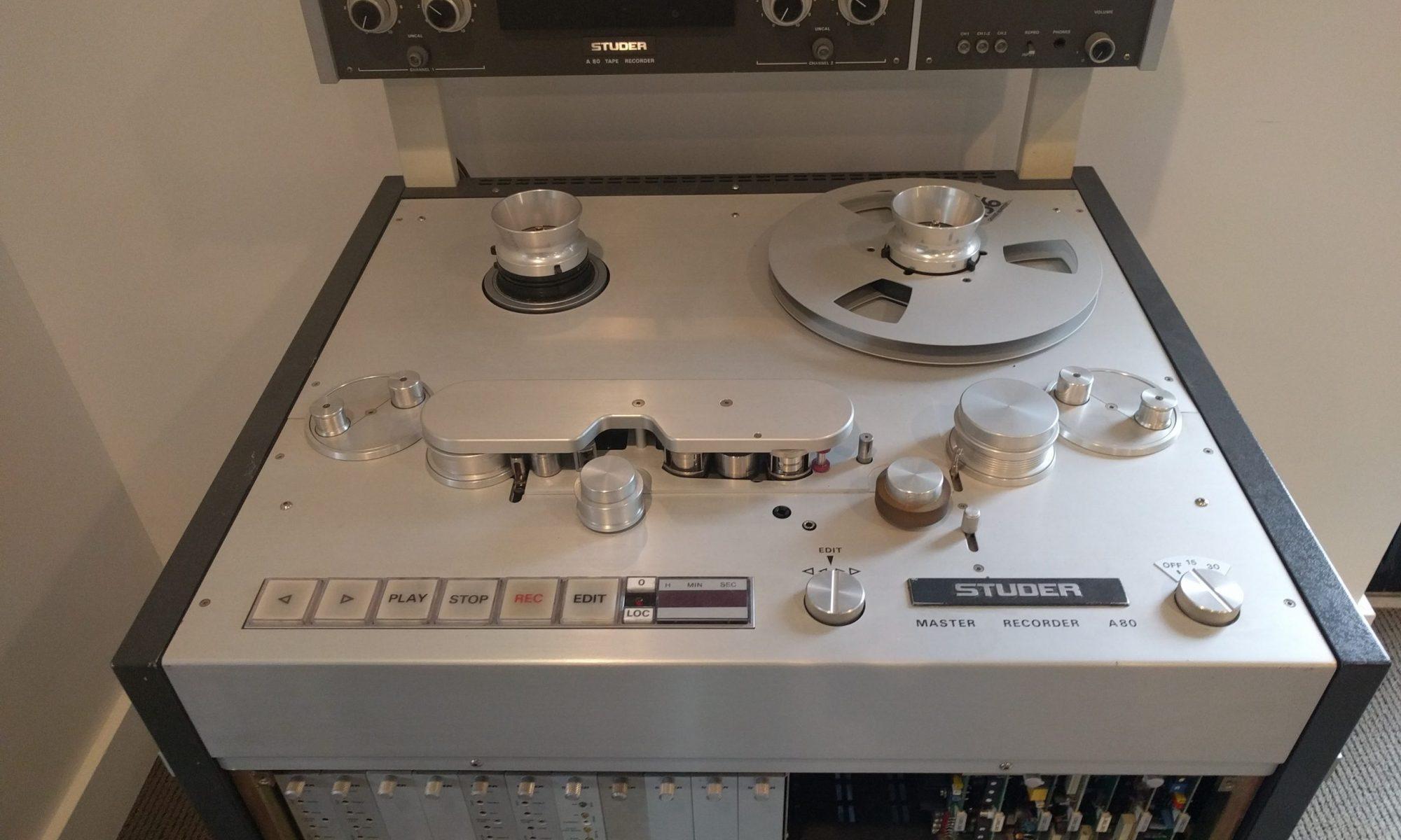 Studer A80 RC MK II