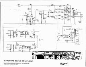 Carlsbro 100 TC Amp Schematic