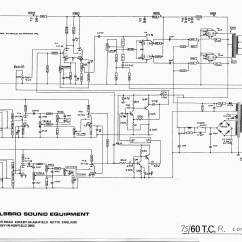Monoblock Wiring Diagram 1970 Chevy Pickup Carlsbro 75/60 T.c./r Amp Schematic