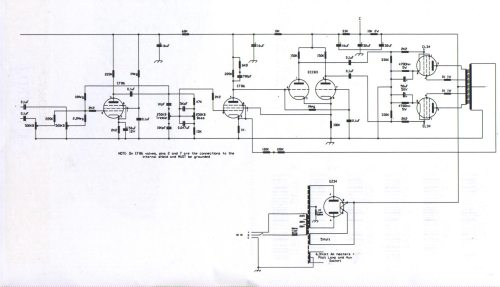 small resolution of schematic wiring diagrams the linear conchord 30 l50 amplifiers