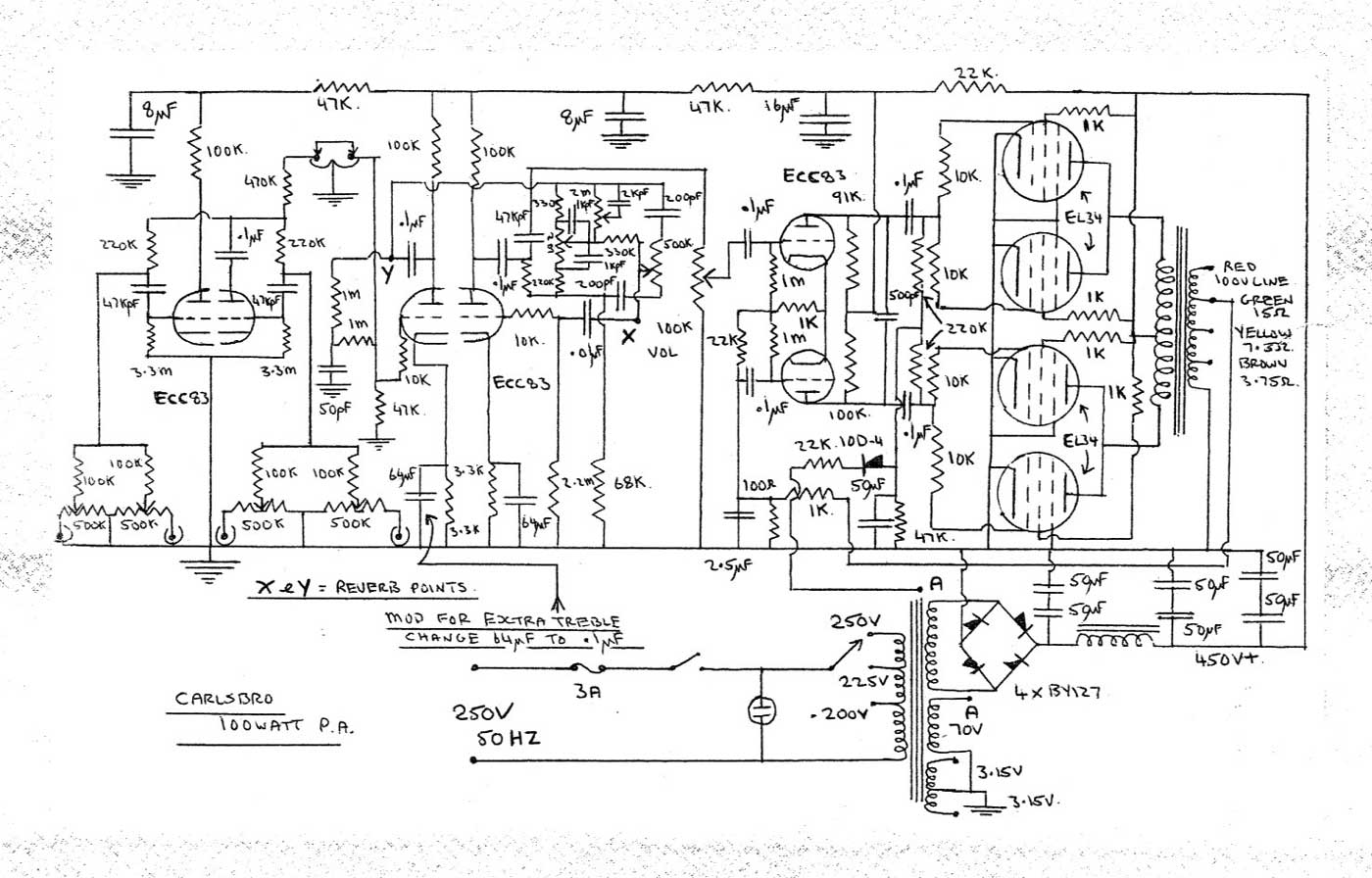 Behringer Amplifier Schematic