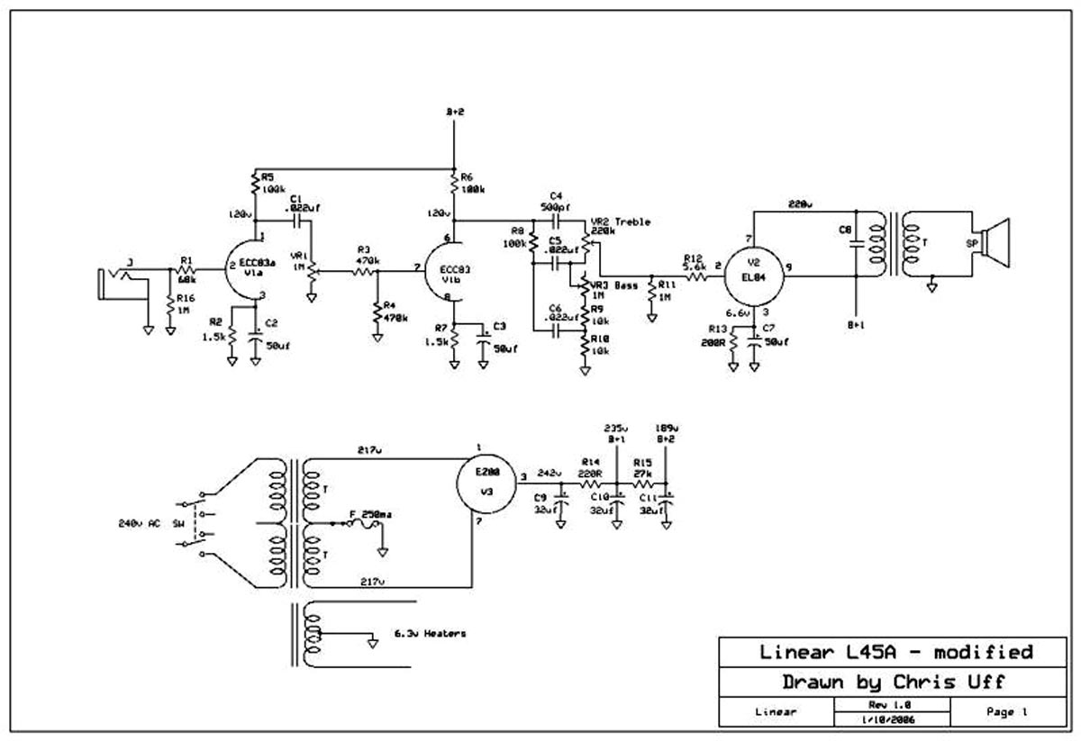 Akg Microphone Wiring Diagram Linear Conchord L45a Schematic Diagram