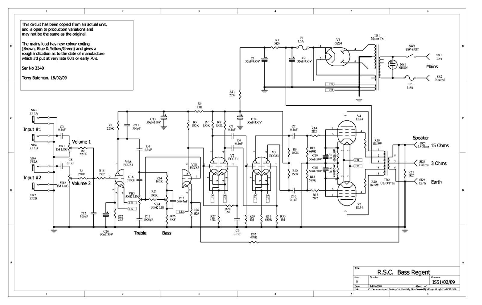 yamaha guitar wiring diagram 2003 dodge ram 7 pin trailer linear rsc bass regent schematic