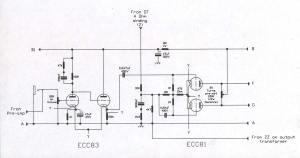 Champ CBA1000 Amplifier  Schematic Diagram