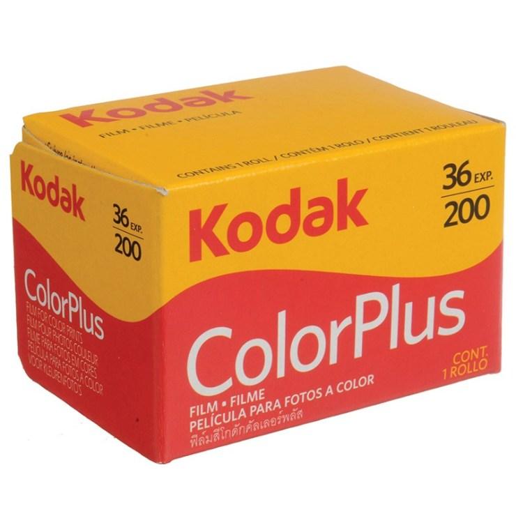 KODAK COLOR PLUS 200 135-36 poses