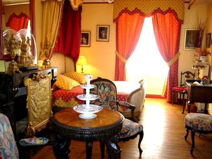 Une chambre d'hotes du Château de la Montchevalleraie - Aviré, Anjou