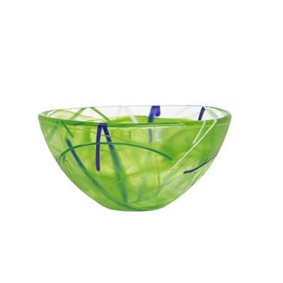 Kosta Boda-Contrast-Small-Bowl-Lime-chameleon-aberdeen