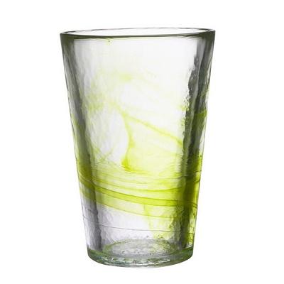 Kosta Boda-Mine-Vase-Lime-chameleon-aberdeen