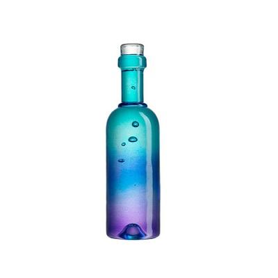 Kosta_Boda_Celebrate_Bottle_Blue_Chameleon_Aberdeen