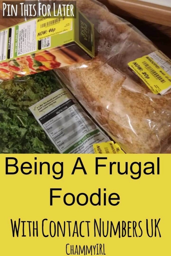 Being A Frugal Foodie With Contact Numbers UK