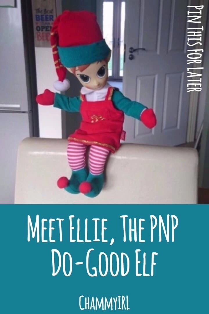 We have a new visitor staying with us until Christmas. Ellie the Elf is a Do-Good Elf from the North Pole visiting us through the power of the Portable North Pole.