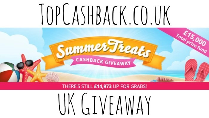 Topcashback summer treats giveaway 2018