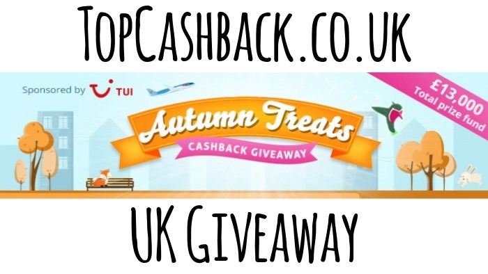 topcashback autumn treat giveaway