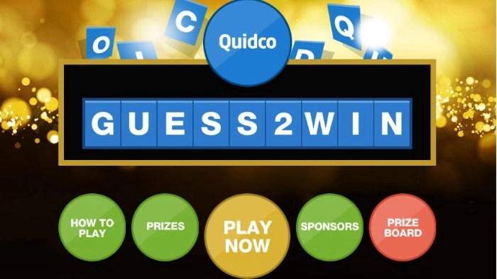 Quidco Guess 2 Win November 2018