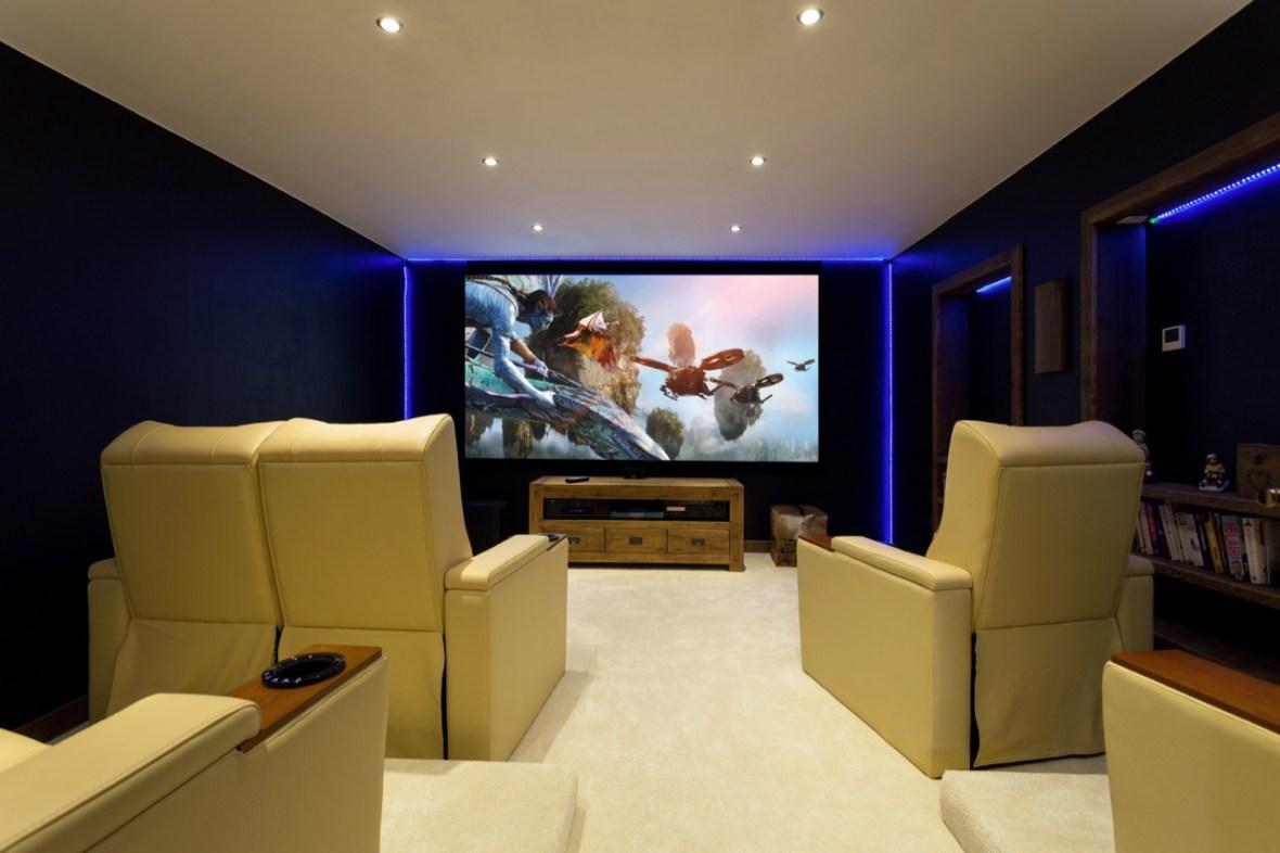 Chalet Cinema Interior