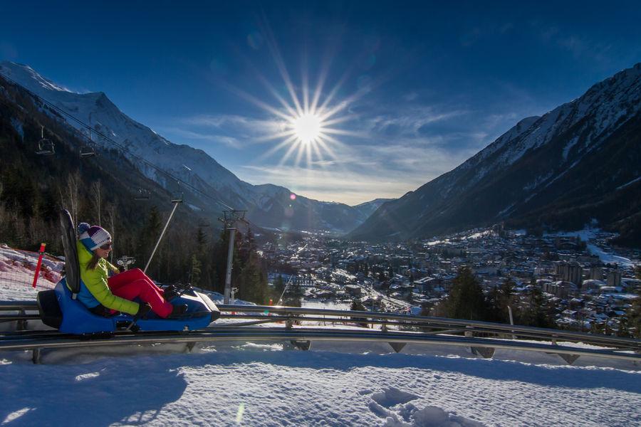 Luge Chamonix Winter