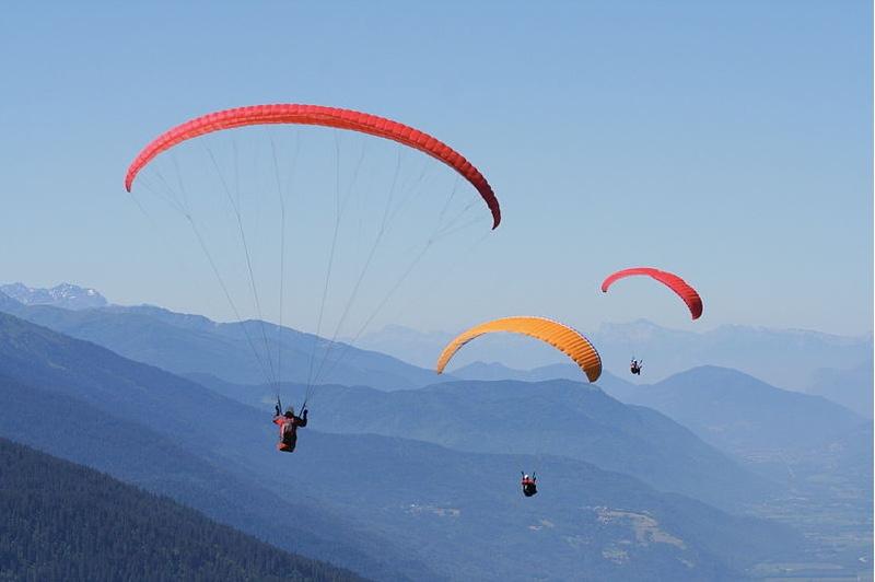Paragliding Chamonix, luxury chalet