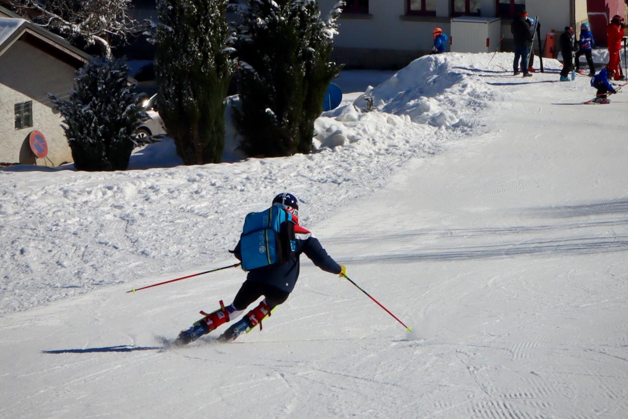 Ski Racing Les Houches