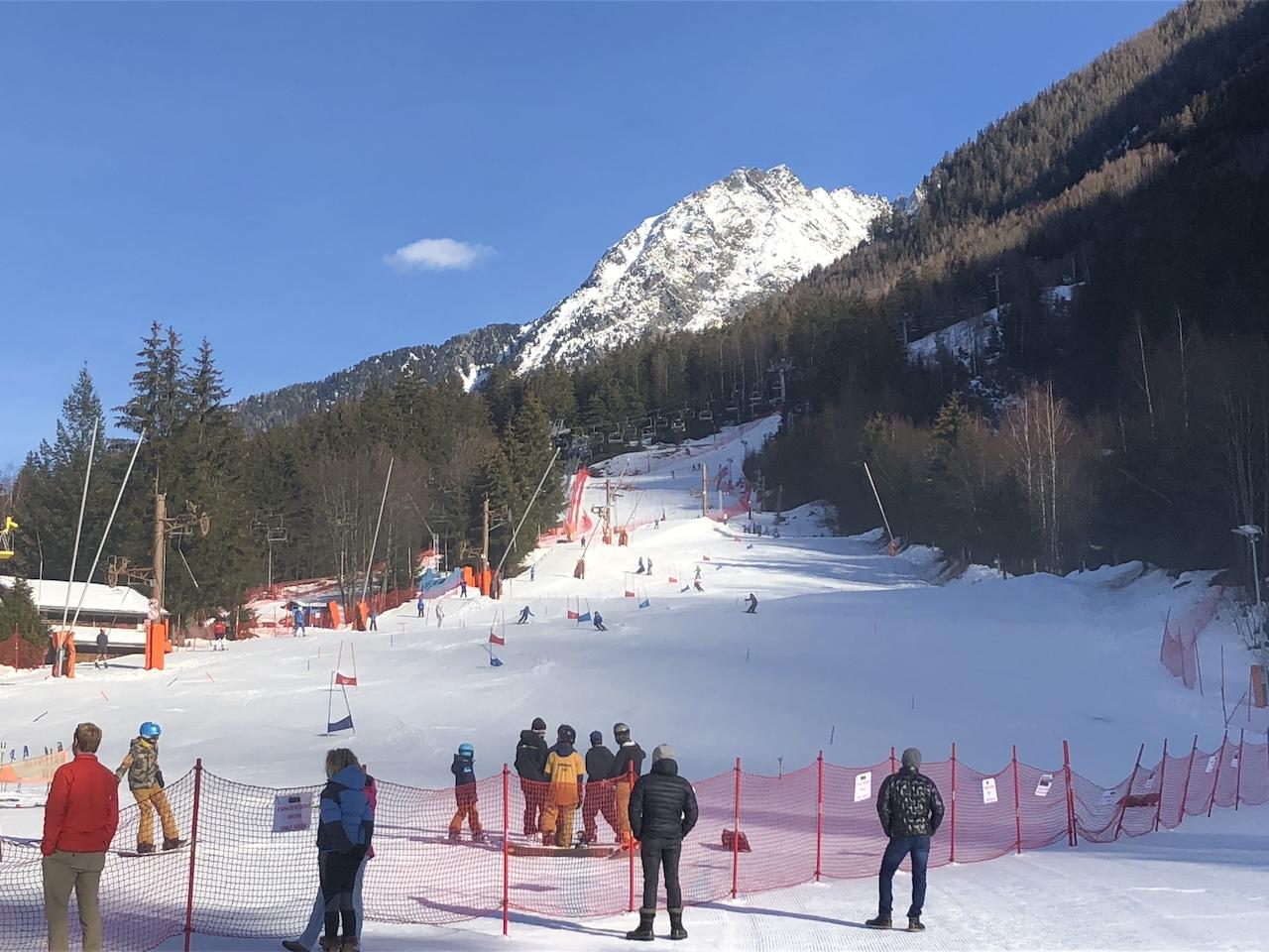 Skiing Christmas