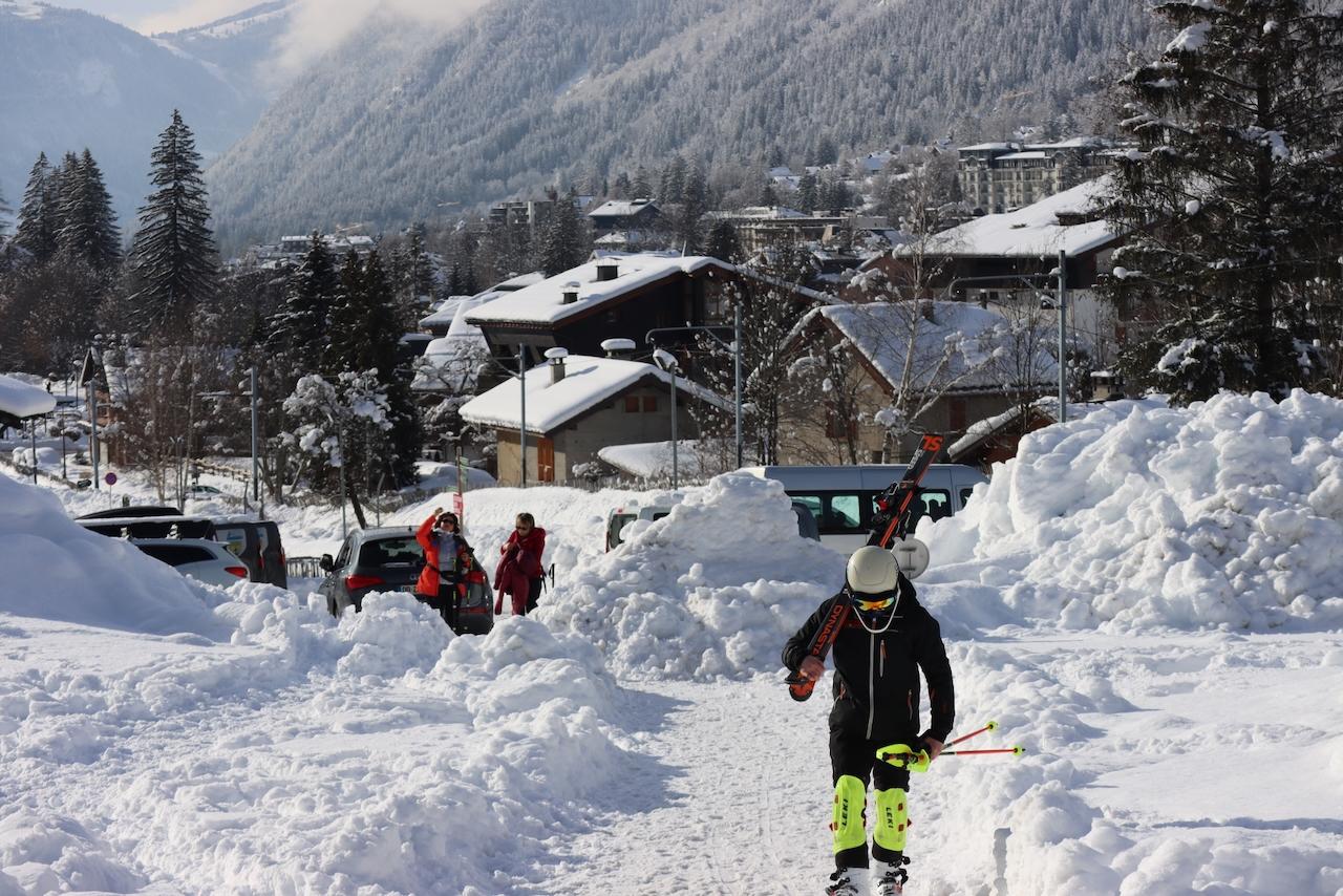 January Skiing
