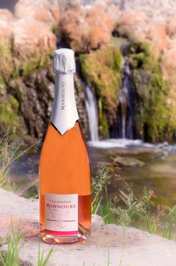 champagne rosé Mannoury