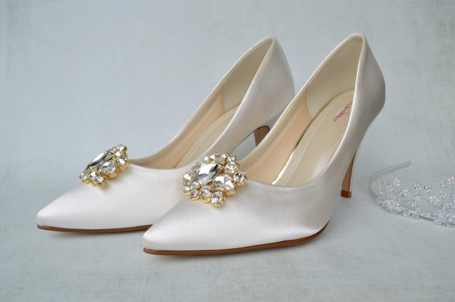 Rainbow Club Dyeable Wedding Shoes