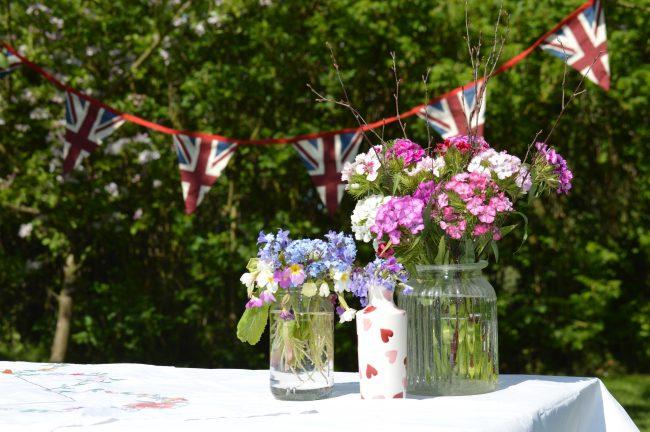 A Royal Wedding to remember with a Royal Wedding Garden Tea Party