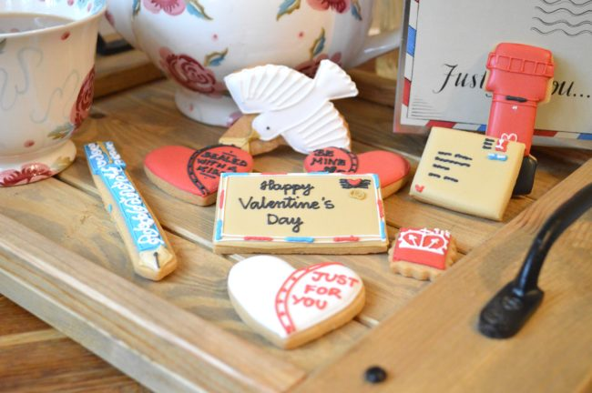 Valentines Biscuits from the Biscuiteers