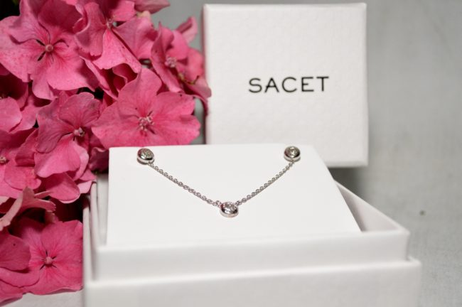 sacet earings and necklace