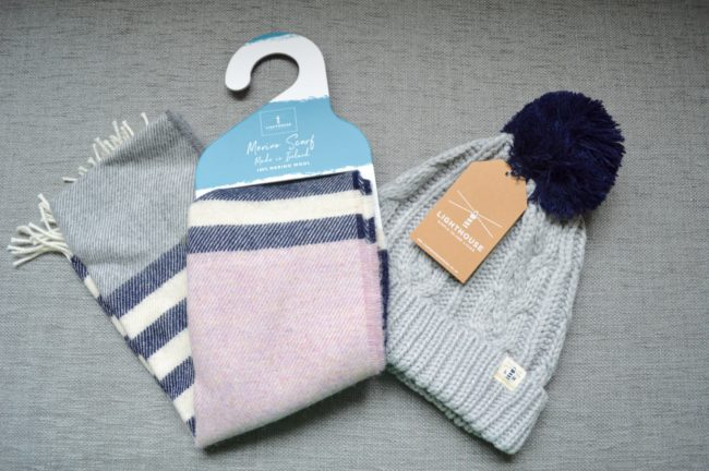 lighthouse clothing hat and scarf