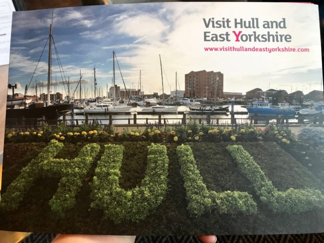 Visiting Hull information pack