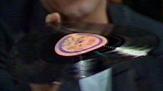 Worst album covers: Uri Geller's record unplayed.