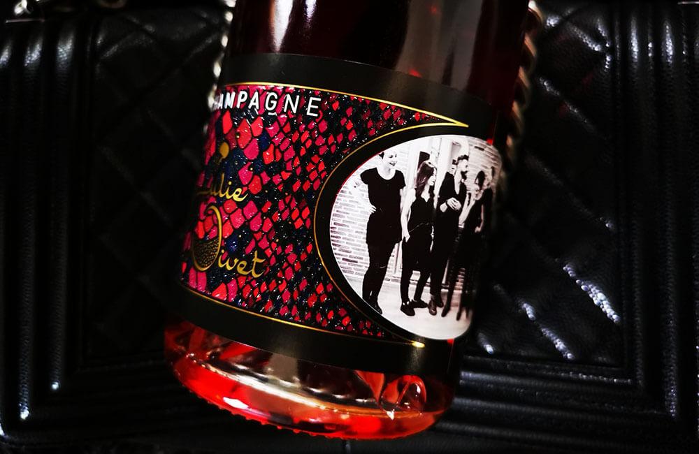 Custom bottles - Julie Nivet