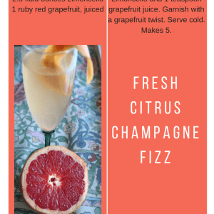 Fresh Citrus Champagne Fizz