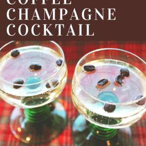 Hazelnut Coffee Champagne Cocktail