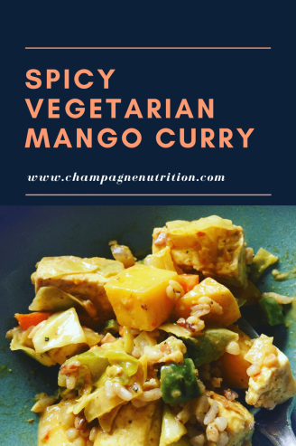 Spicy Vegetarian Mango Curry