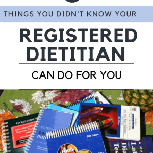 5 Things You Didn't Know Your Dietitian Can Do For You