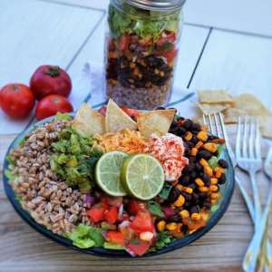 Tex Mex Burrito Bowl and Fertility Foods Cookbook Review