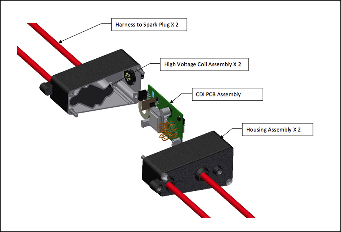 hight resolution of cdi module assembly electign02 pedigree from solid state ignition