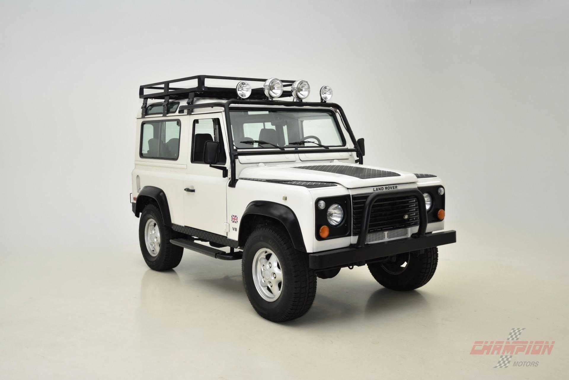 1997 Land Rover Defender Exotic and Classic Car Dealership