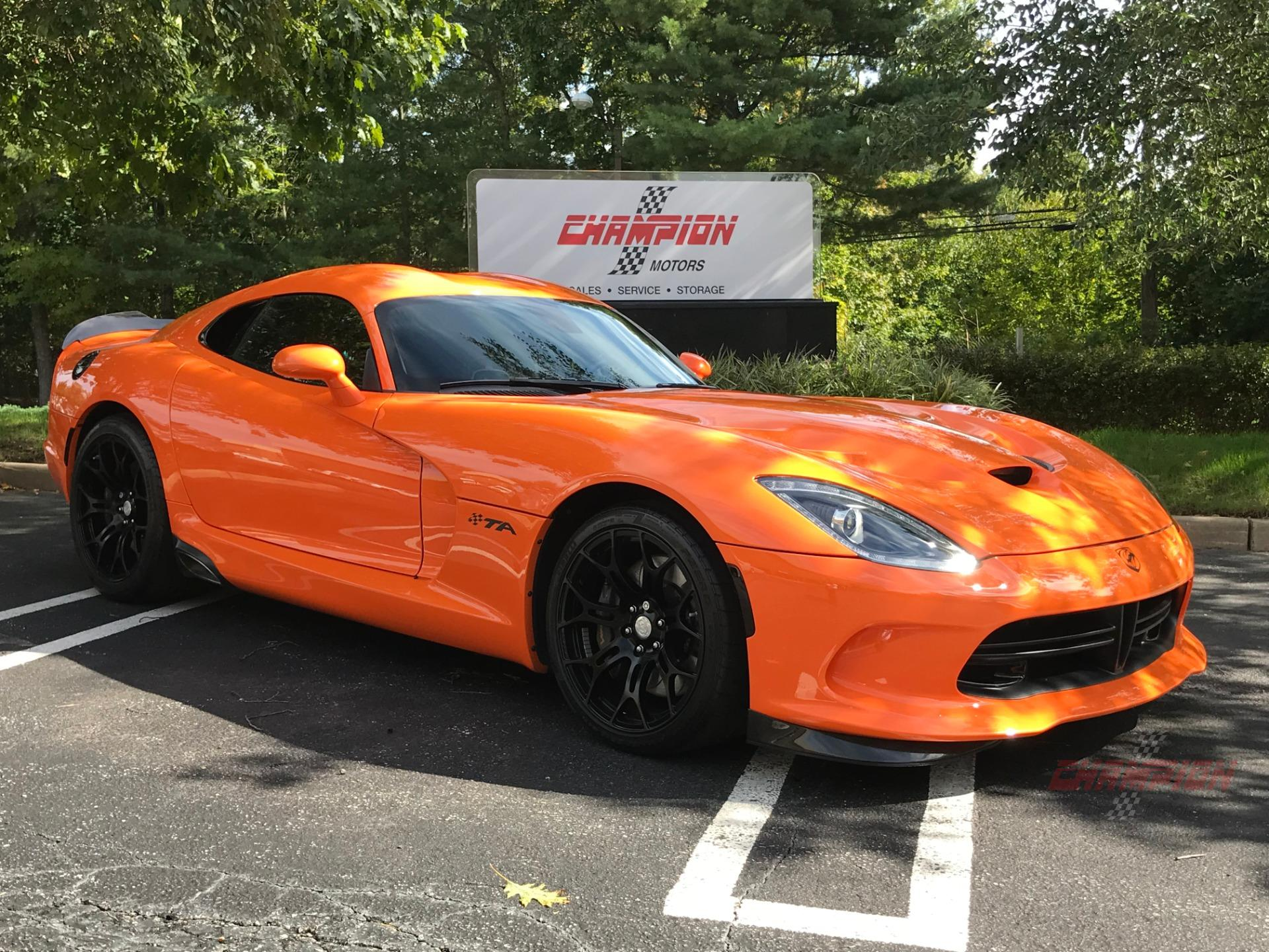 2014 Dodge Srt Viper Ta Package Champion Motors International L