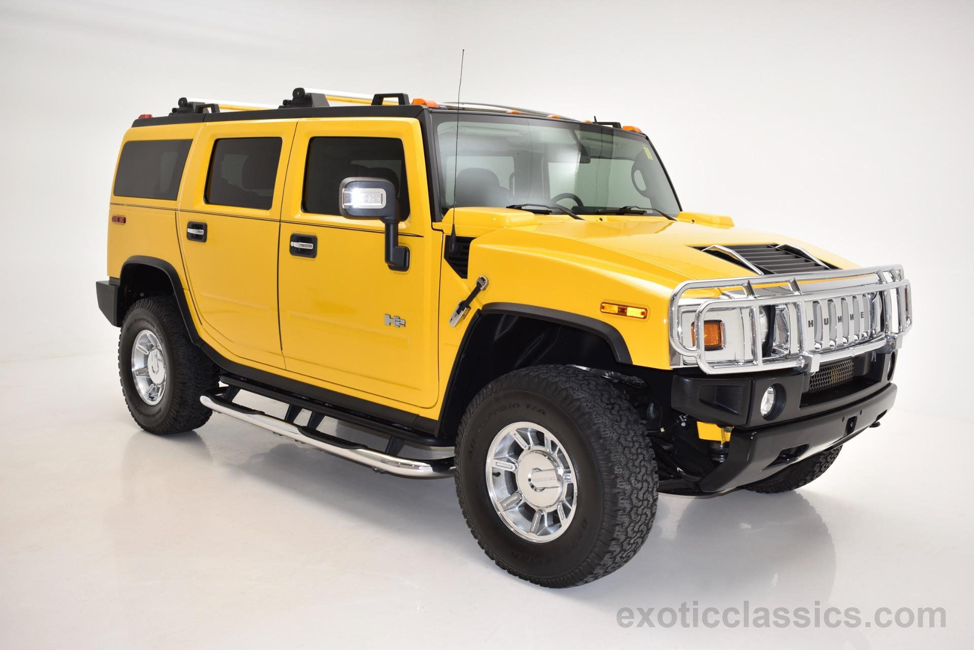 2007 HUMMER H2 SUV Exotic and Classic Car Dealership