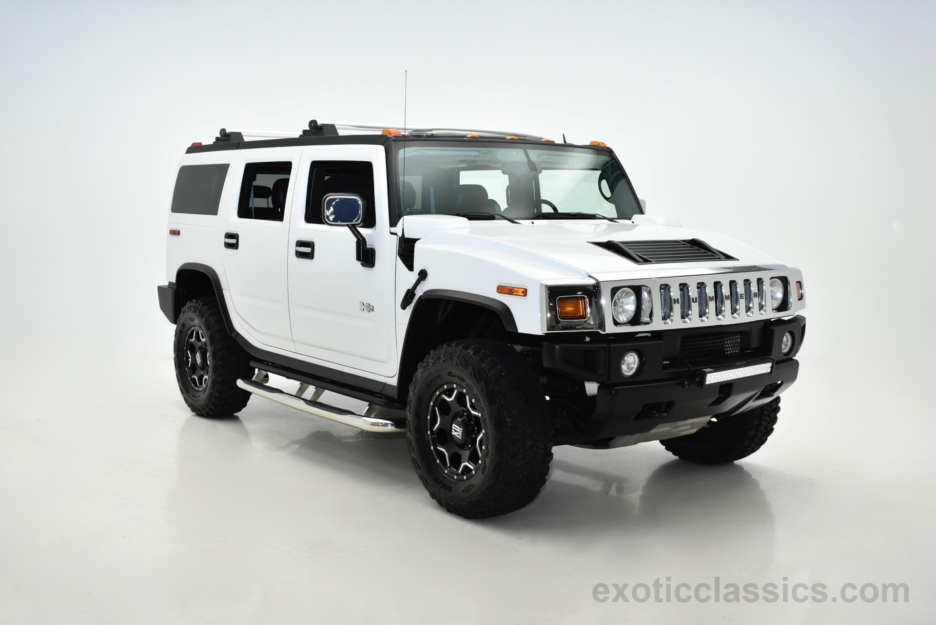 2005 HUMMER H2 Lux Series Exotic and Classic Car Dealership