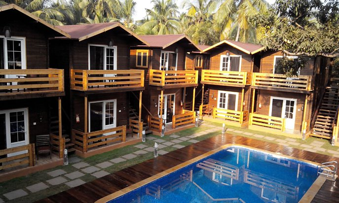 Wooden Houses in India  Prefab Wooden House Cost Prefab