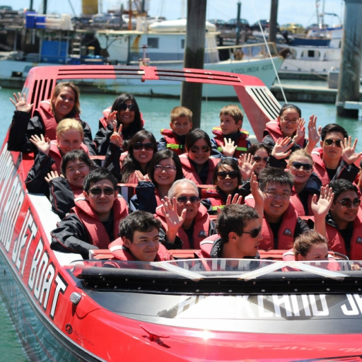 Social Event. Auckland Adventures. Jet Boat