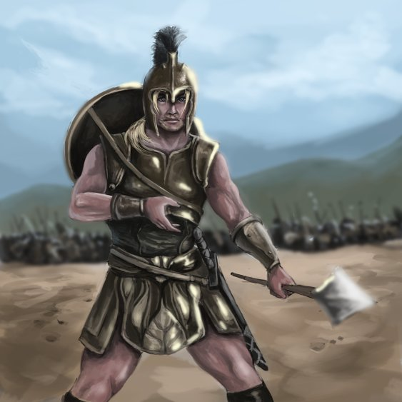 Achilles is one of the greatest warriors that have ever existed. Champions of Gods