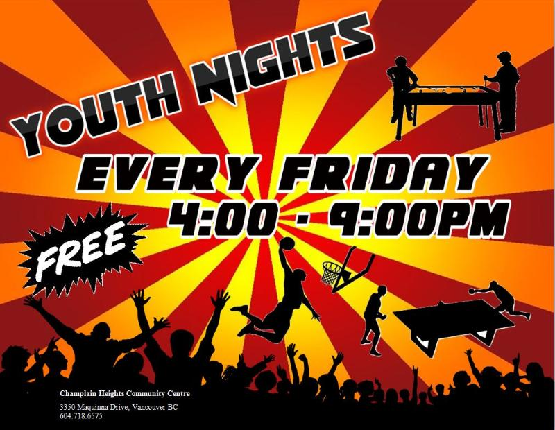 Youth Nights Every Friday Night