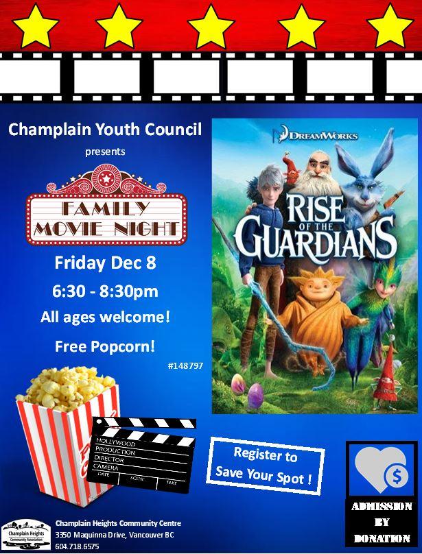 Movie Night-Dec 8