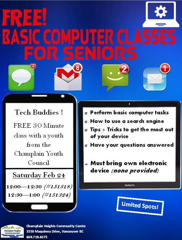 Basic Computer Classes for Seniors -FREE