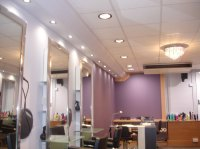 pictures of hair salon lighting lighting case study ...